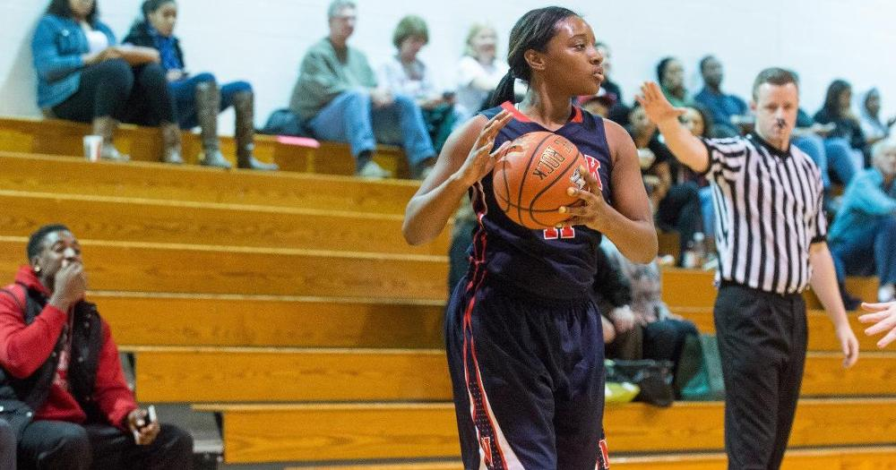 McKeither's Double-Double Lifts Women's Hoops Past Daemen 64-56