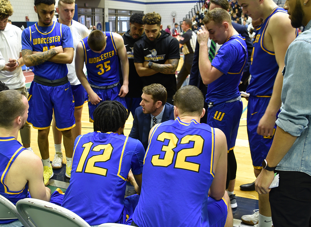 Men's Basketball Comes Up Short in MASCAC Championship