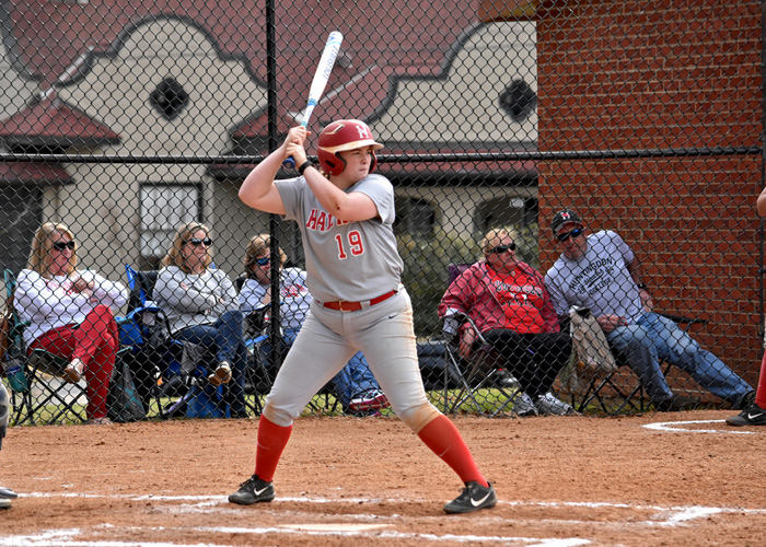 Maggie Porter was 3-for-6 with an RBI triple and two runs in Thursday's doubleheader with Judson. (Photo by Wesley Lyle)