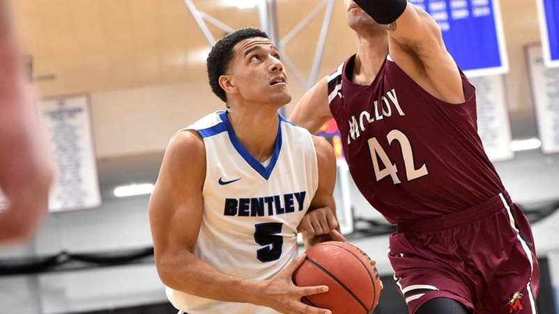 Hudson & Webb Combine for 50, but Bentley Falls at Franklin Pierce, 94-90