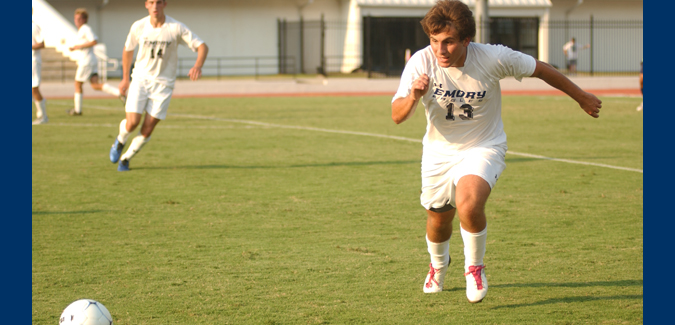 Emory Men's Soccer Defeats Oglethorpe for Second-Straight Win