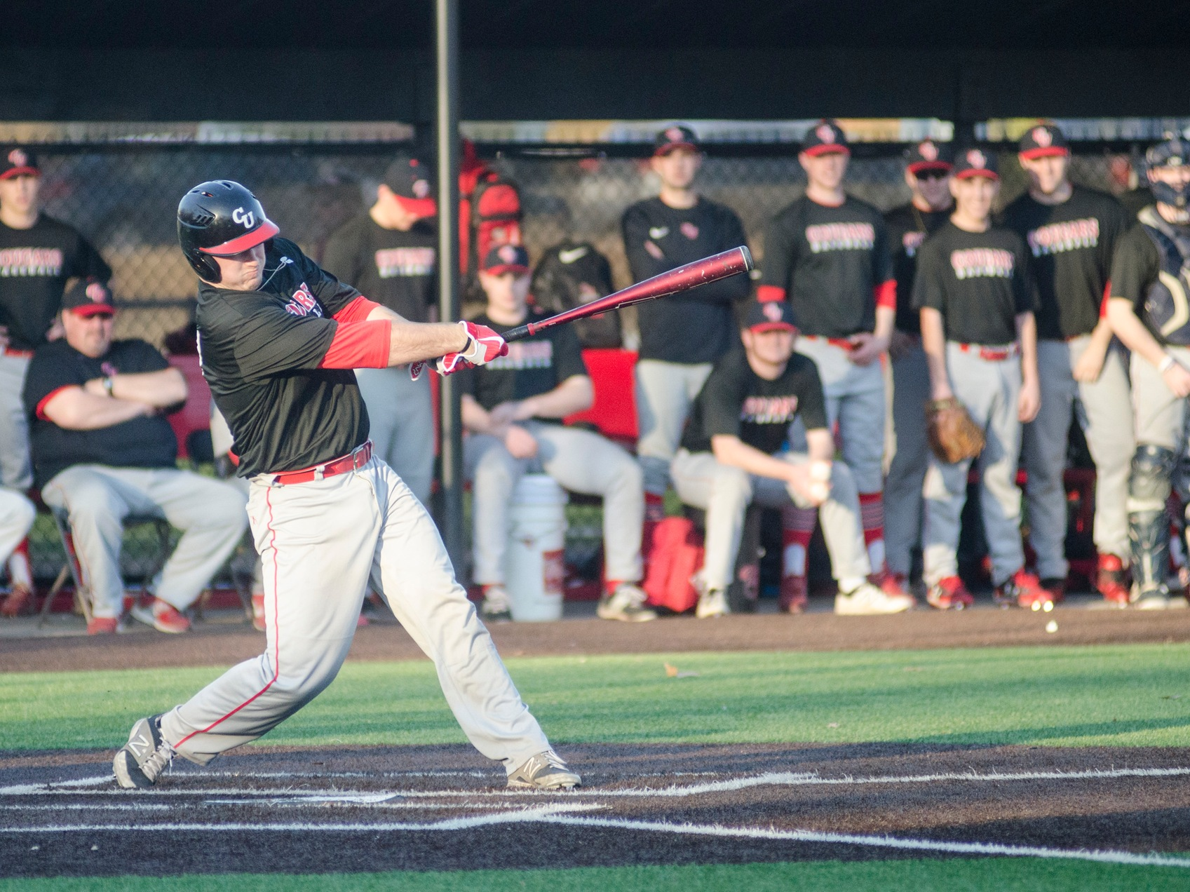 Cougars Crush Elms on Opening Day, 9-2