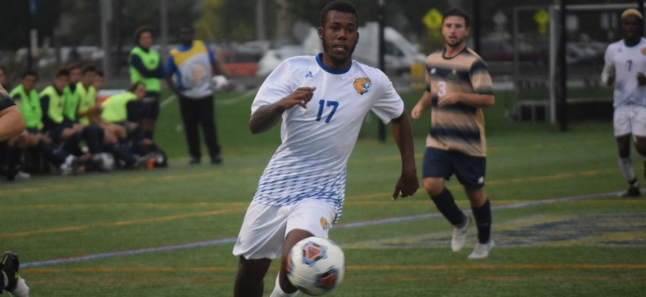 JWU Men's Soccer & Rhode Island College Play to 1-1 Draw