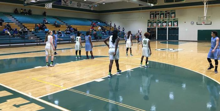 Lady Gators Dunk Camden 52-26