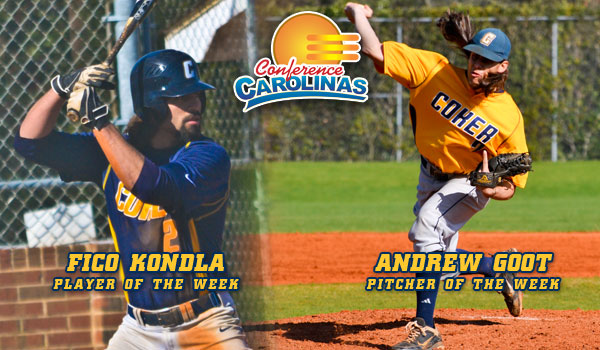 Kondla, Goot Repeat as Weekly Conference Winners