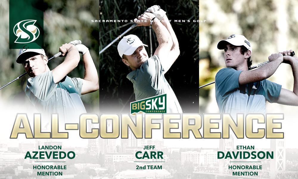 TRIO OF MEN'S GOLFERS NAMED ALL-BIG SKY; CONFERENCE CHAMPIONSHIP UP NEXT