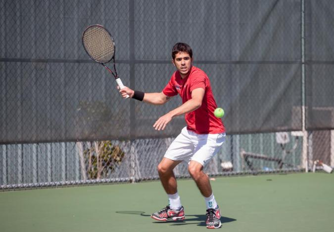 Men's Tennis Beats Jacksonville State to Advance to the OVC Semifinals