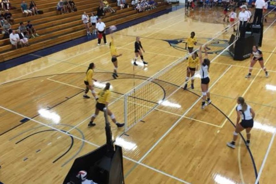 Photo for Volleyball Splits at Earlybird Tourney; Madonna Wins Tourney