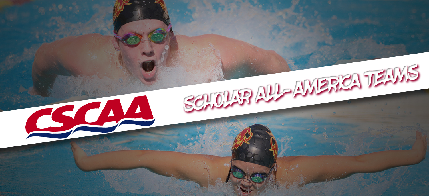 Both CMS teams were recognized this year for their academic success by the CSCAA.