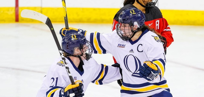 Samoskevich lifts Quinnipiac to win over Harvard