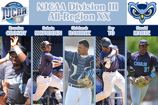 Prince George's Baseball Places Five On NJCAA All-Region XX Division III Team