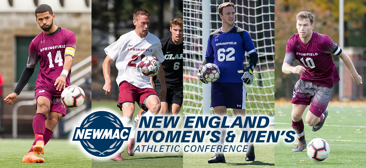 Four Men's Soccer Student-Athletes Garner NEWMAC All-Conference Honors