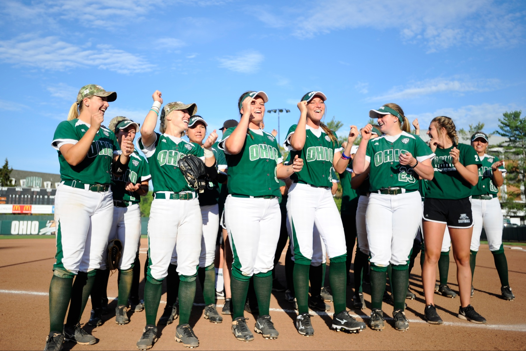 Ohio Softball Storms Back, Downs James Madison in Nine Innings, 9-7