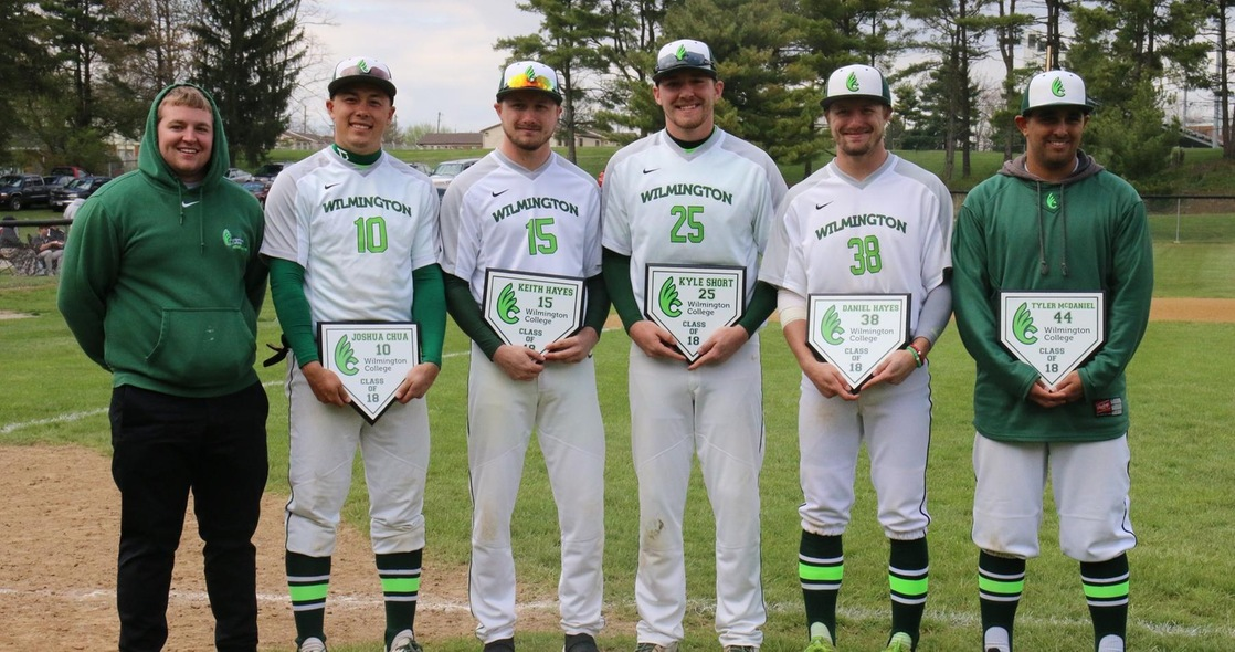 Heidelberg Bests Baseball on Senior Day