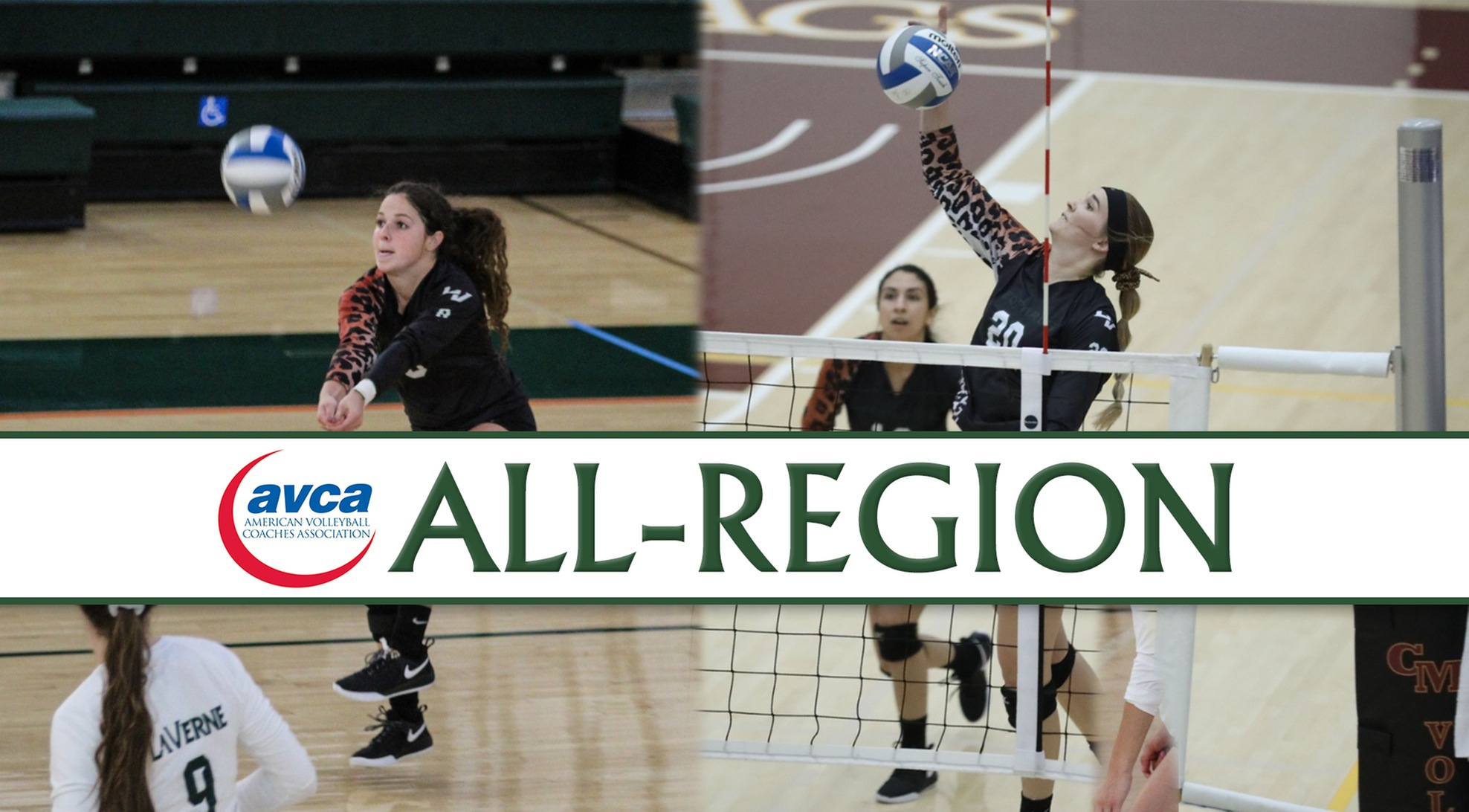 Sievers, Sanchez named AVCA All-Region