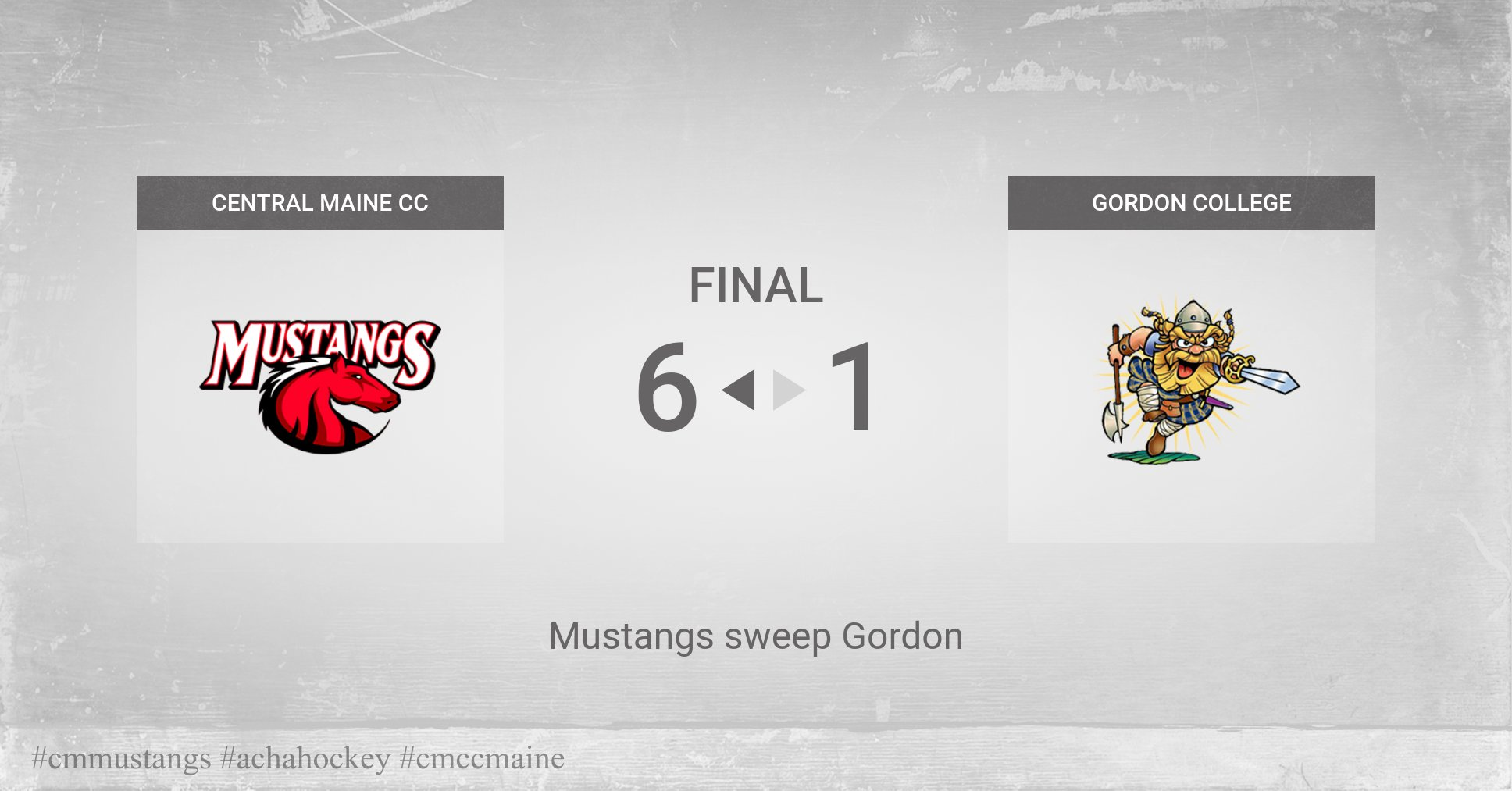 Mustangs Pounce on Gordon College 6-1