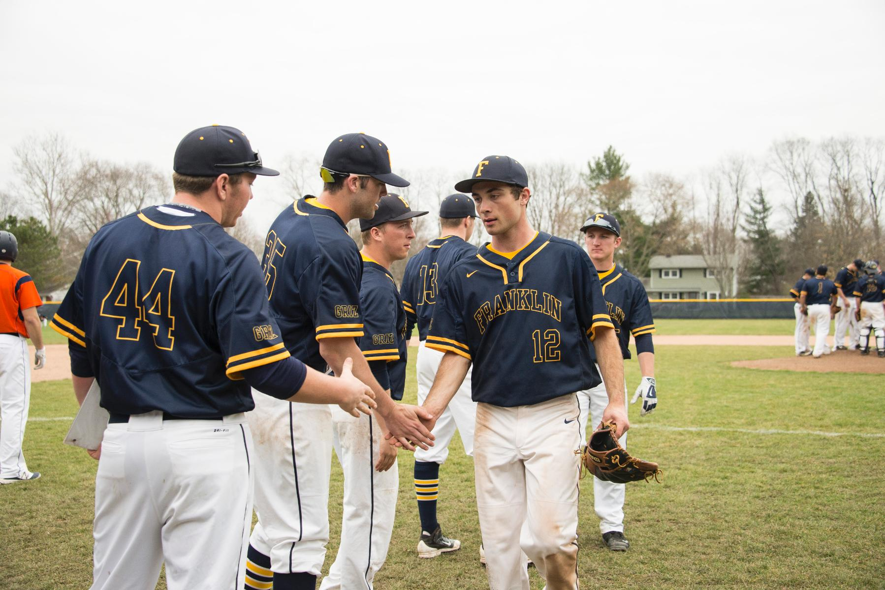 Baseball Team Wins HCAC Opener