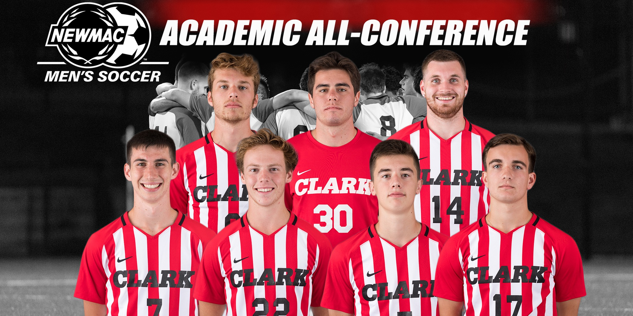 Men's Soccer Places Seven on 2018 NEWMAC Academic All-Conference Team