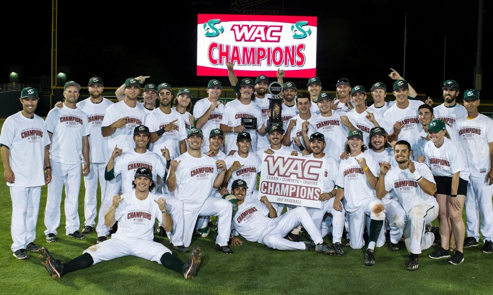 BASEBALL BEATS CSU BAKERSFIELD 5-0 TO WIN WAC TOURNAMENT