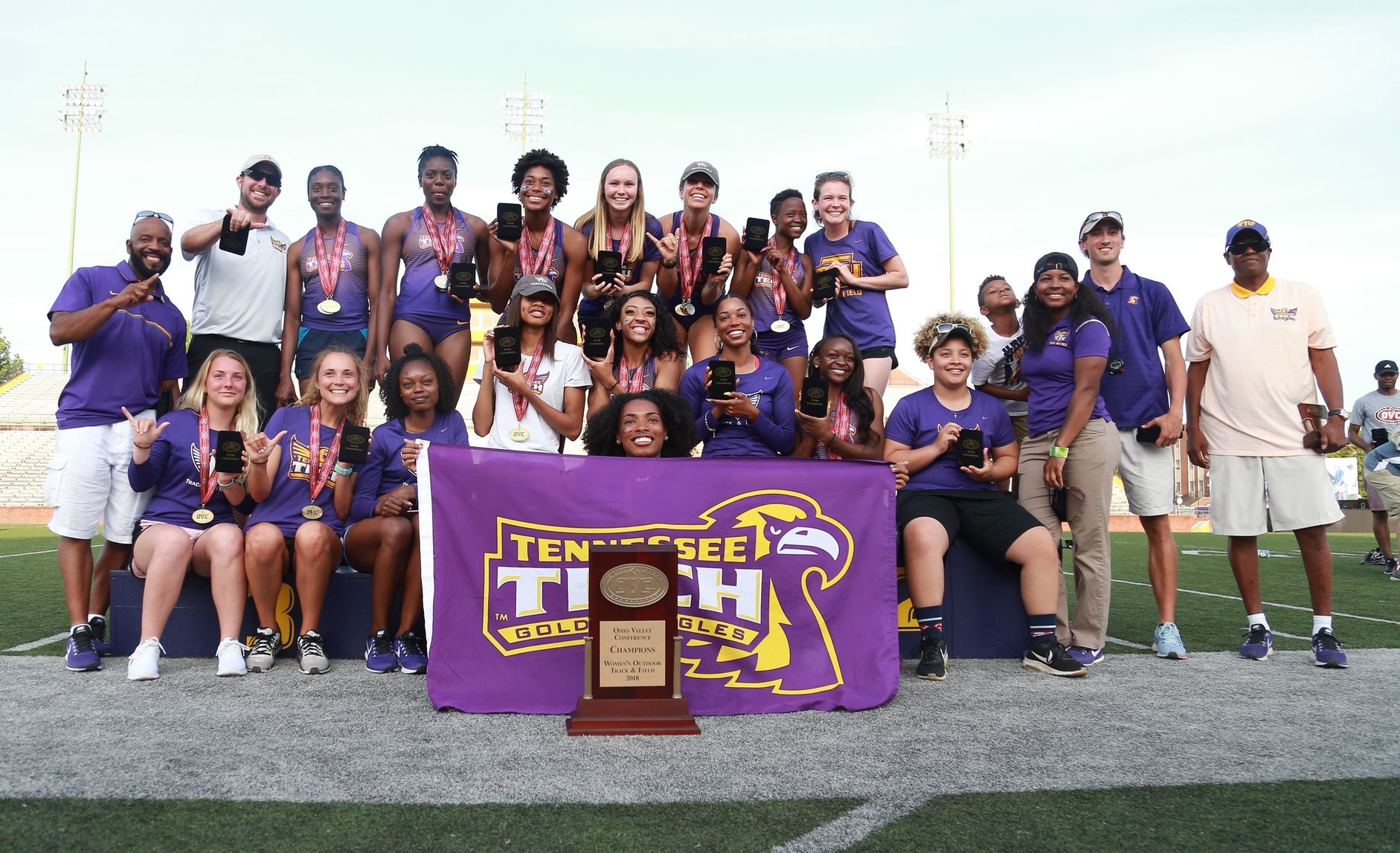 Tech track and field tries for back-to-back titles at OVC Indoor Championships