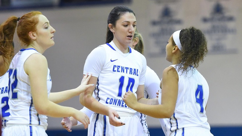 Fourth Quarter Comeback Downs Bryant, 66-59, CCSU Wins Three Straight