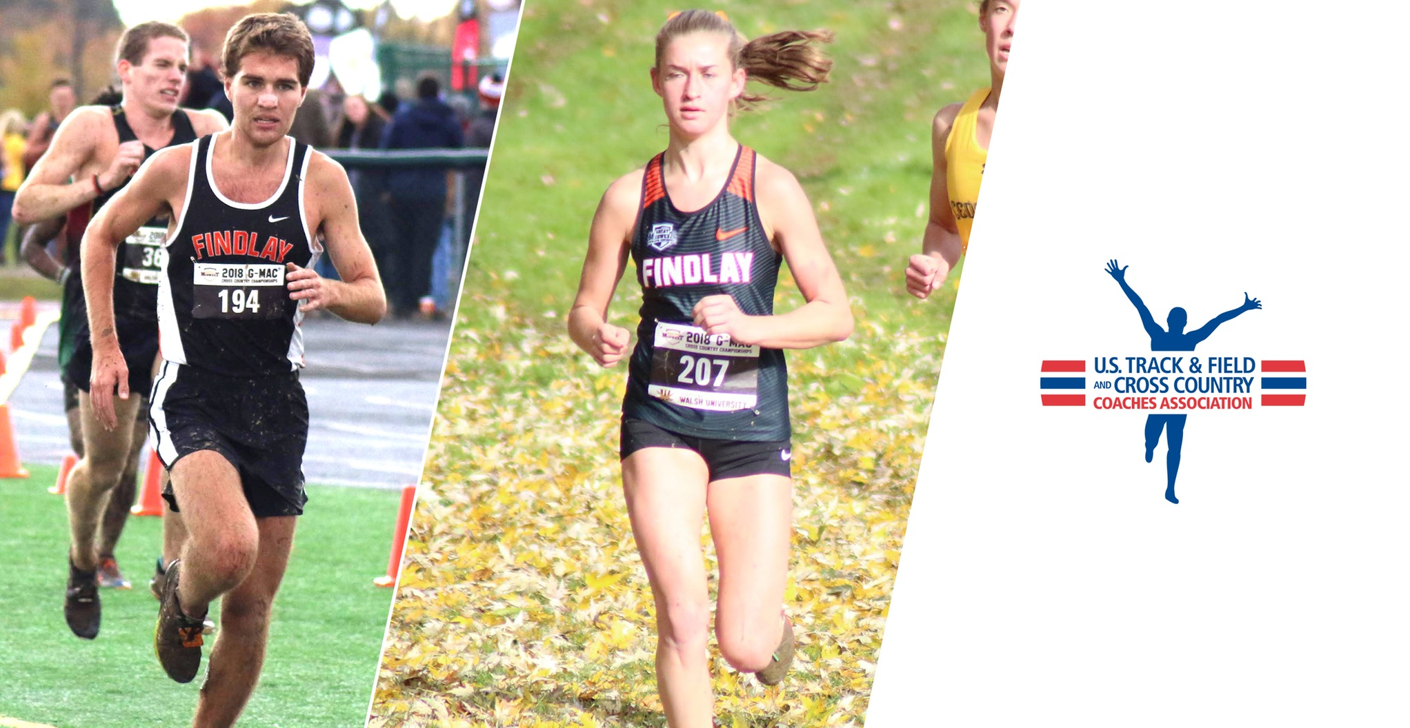 Allen, Lawrence Earn All-Academic Honors from USTFCCCA