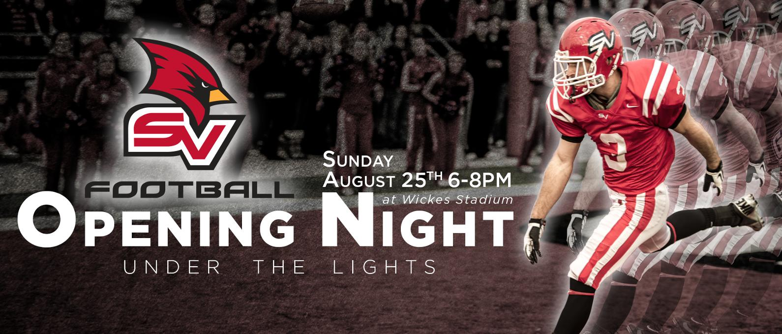 "SVSU Set To Host ""Opening Night Under The Lights"" Event"