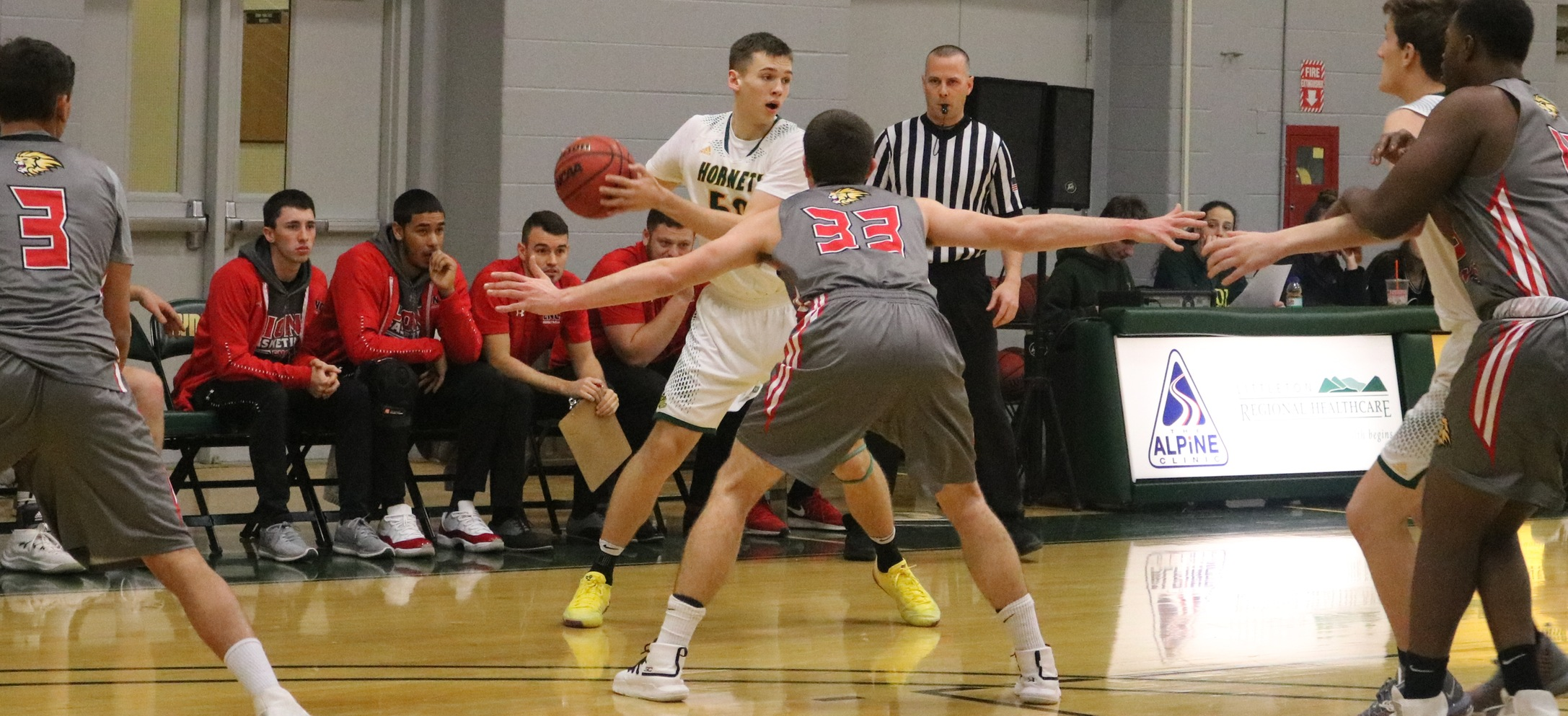 Hornet men unable to sustain fast start in loss to Cazenovia