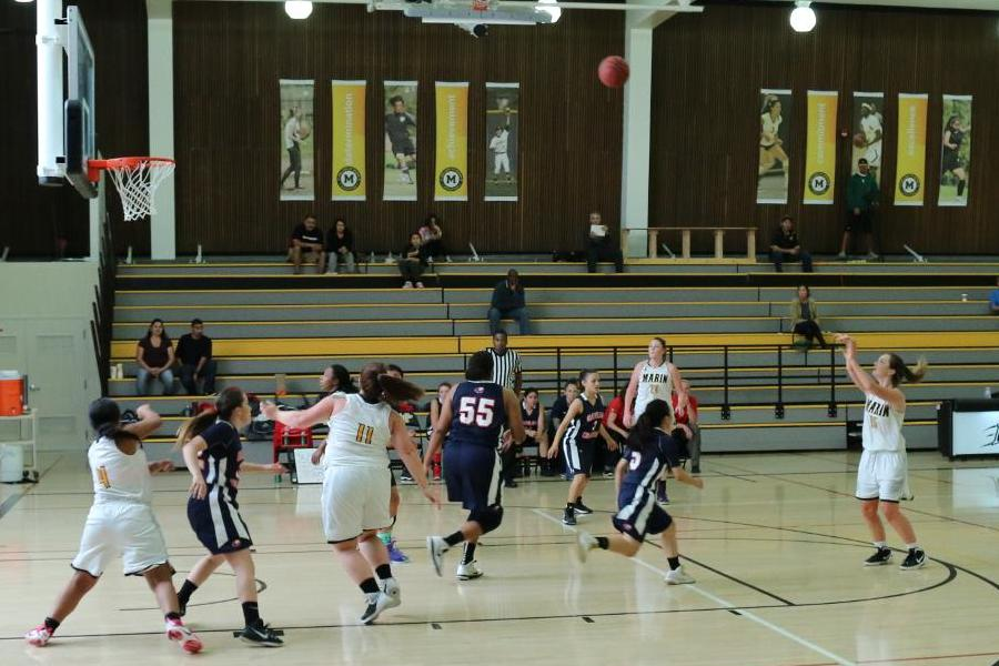 College of Marin Women's Basketball Comes Up Just Short In 63-61 Loss To Yuba College