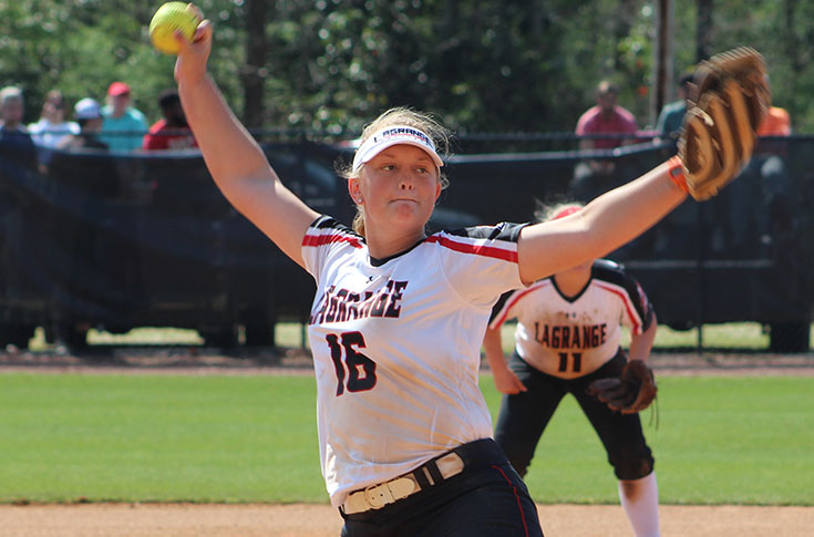 Softball: Panthers bounce back to gain split of USA South doubleheader with Piedmont
