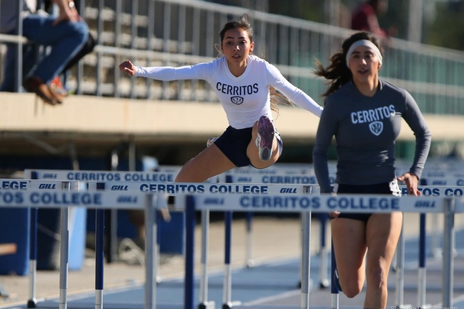 Cerritos won four events at invitational