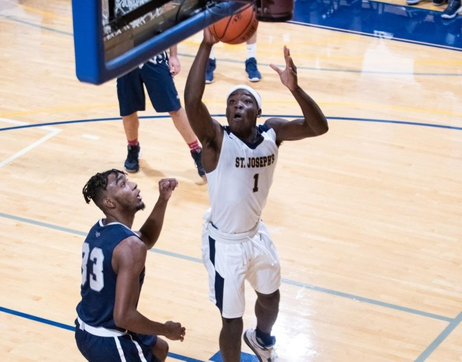 Men's Basketball Outpaced by Farmingdale on Saturday