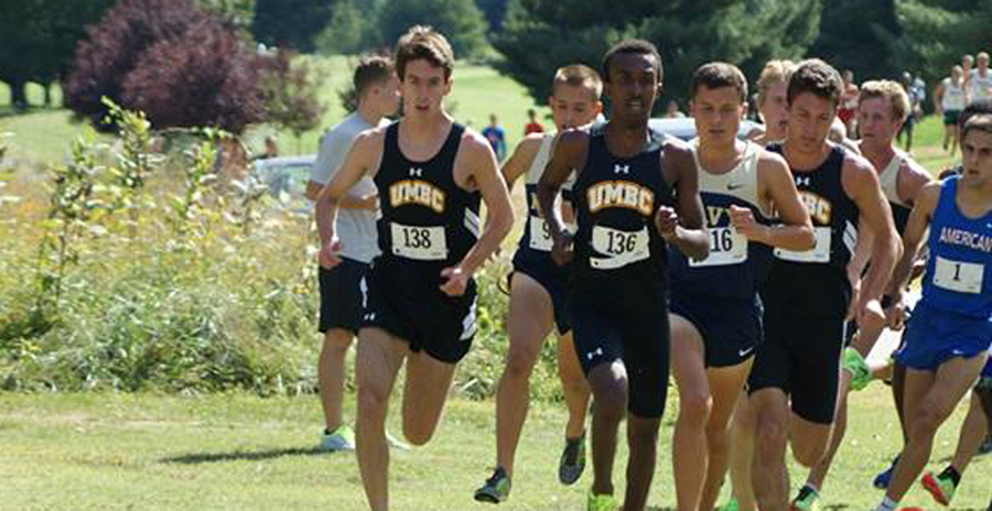 Omar Paces UMBC at Navy Invitational