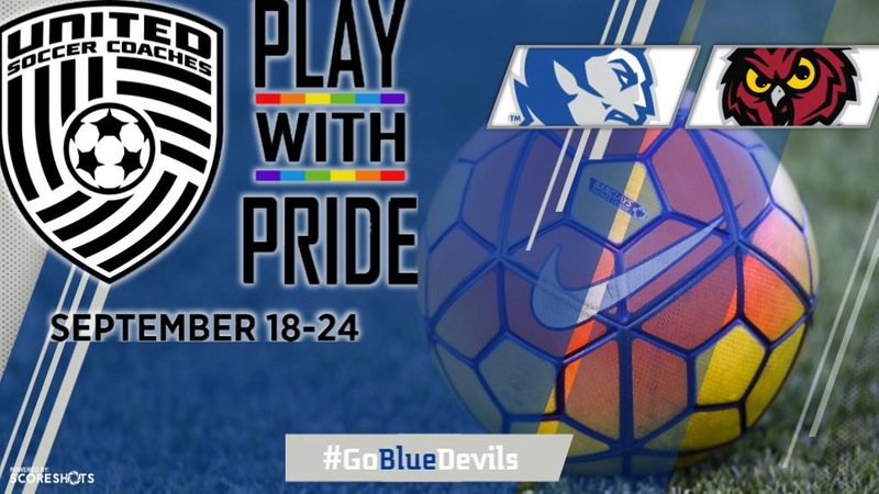 Women's Soccer to Participate in Play With Pride Saturday