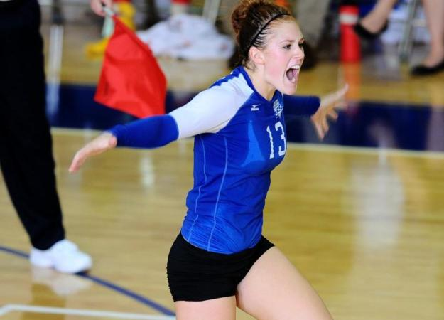 Volleyball Tops SFPA for First Win