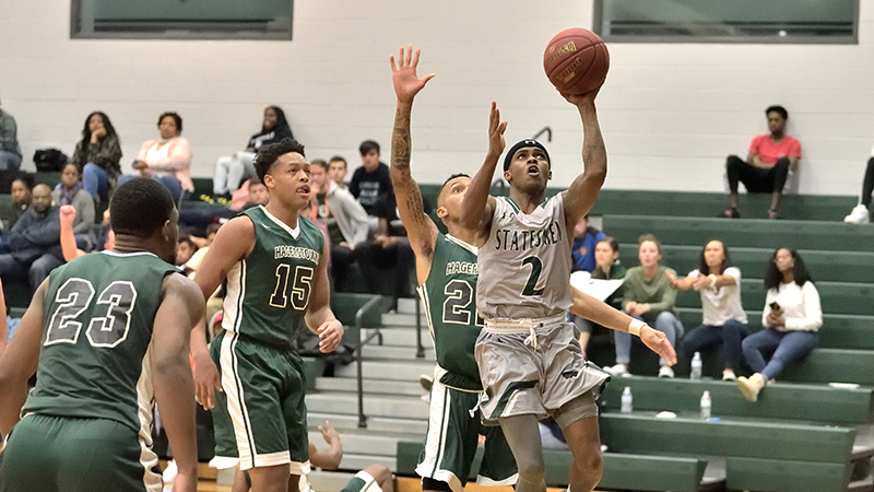 Late Statesmen Rally Falls Short Against Caldwell, 82-74