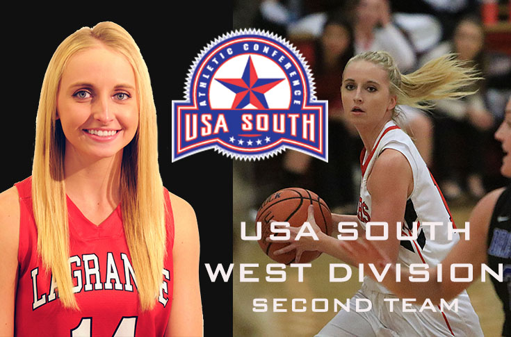 2017-18 in Review: Senior Lauren Johnson selected to USA South West Division second team