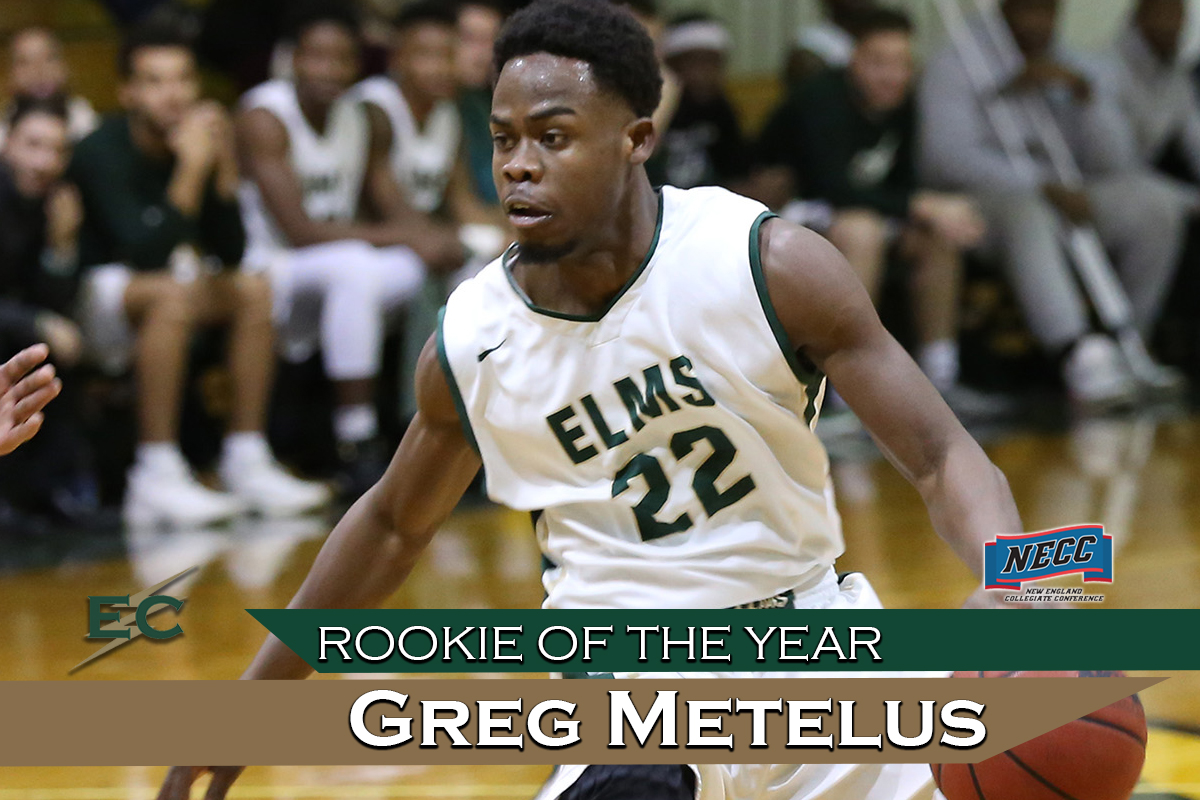 Metelus Named NECC Rookie Of The Year