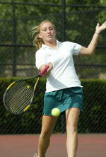 Dhaine and Myers Sweep Weekly Tennis Honors