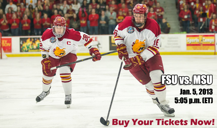 Tickets On Sale For Jan. 5 Home Hockey vs. MSU