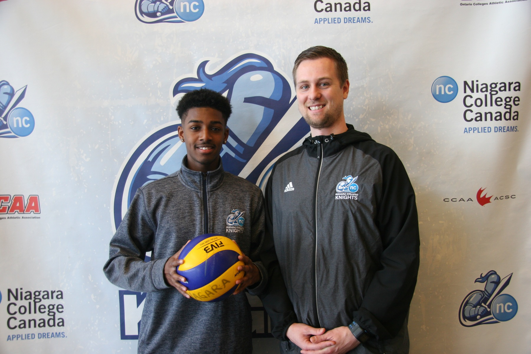 NEWS: Men's Volleyball announce addition of Toronto Onyx standout Jaydon Milne