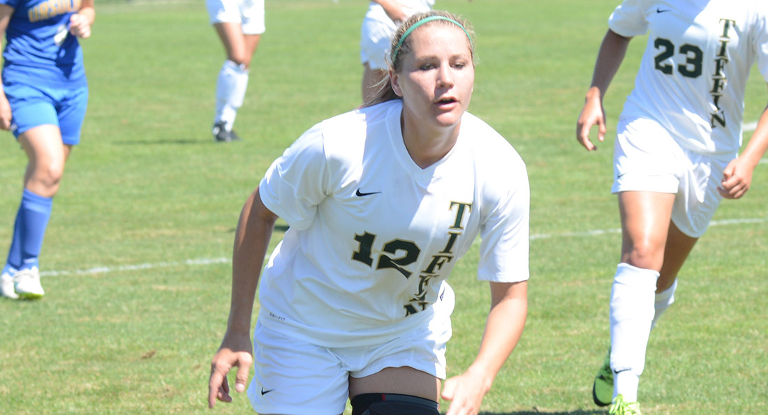 Leanne Tobin and the Dragons could not keep up with Grand Valley State in a 9-0 defeat.