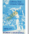 1976-77 Women's Basketball Media Guide Cover