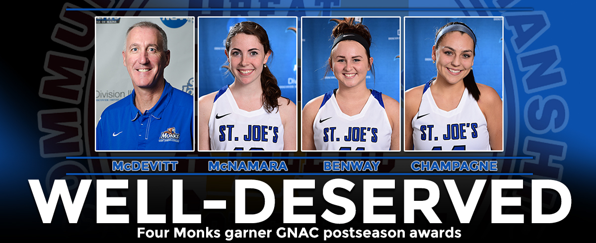 Four Honored with GNAC Postseason Accolades