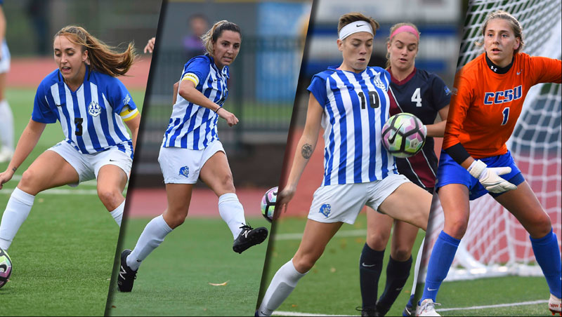 Women's Soccer Quartet Named NEWISA All-New England