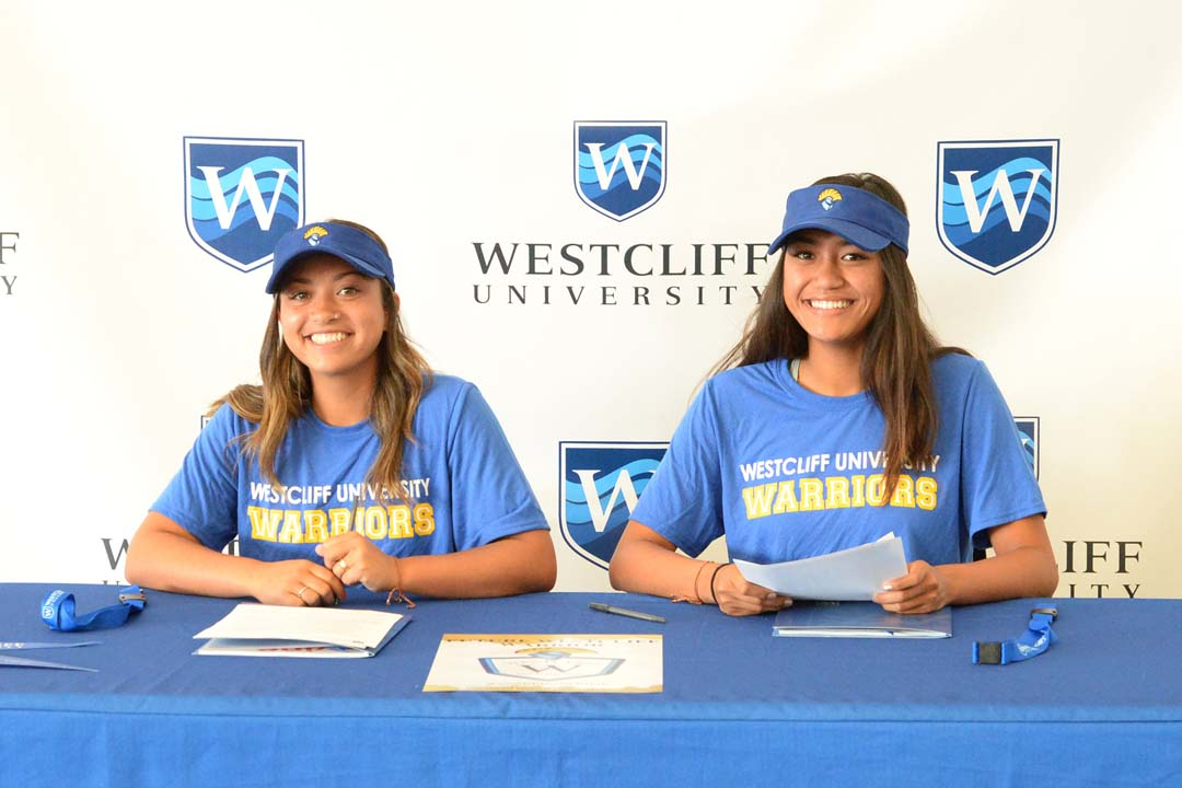Pirate volleyball pair headed to Westcliff University