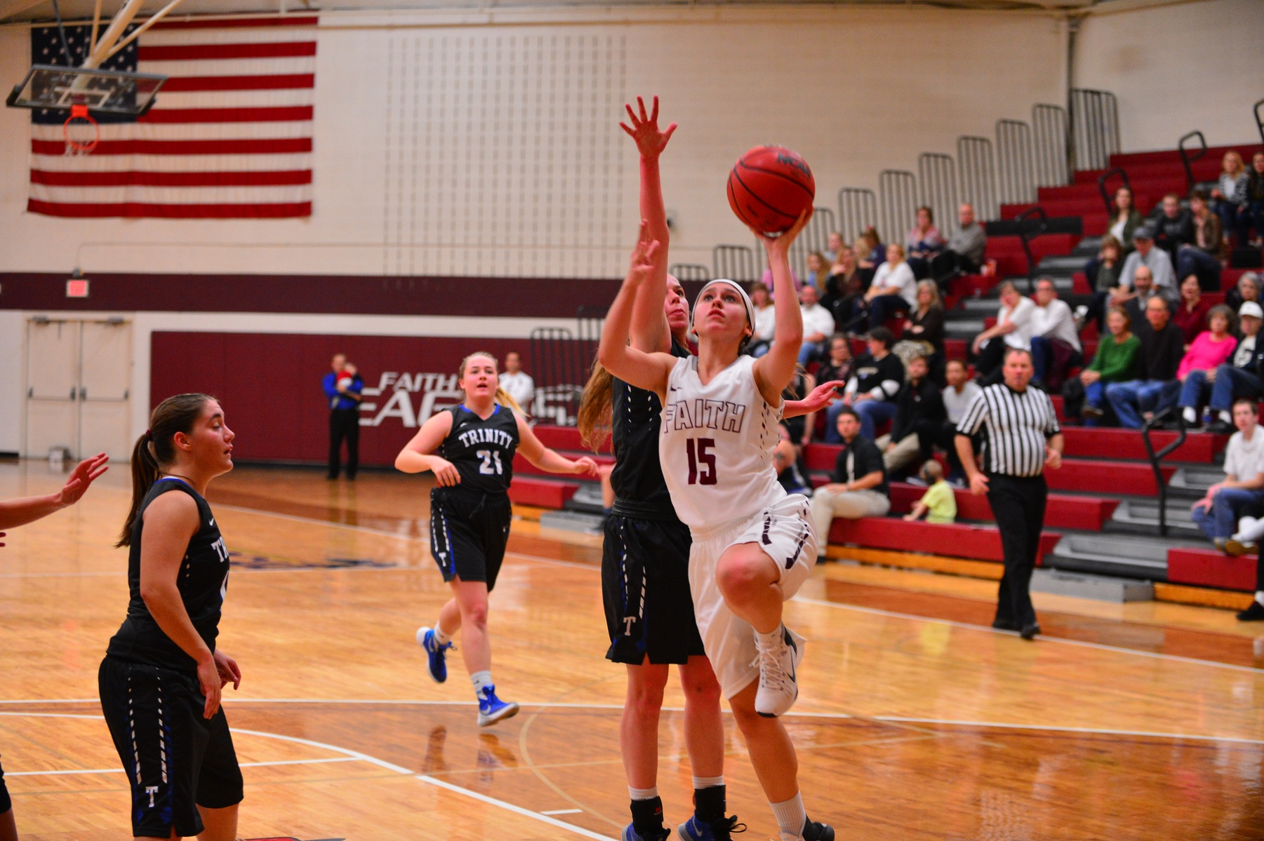 Lady Eagles Host Final Game of Semester
