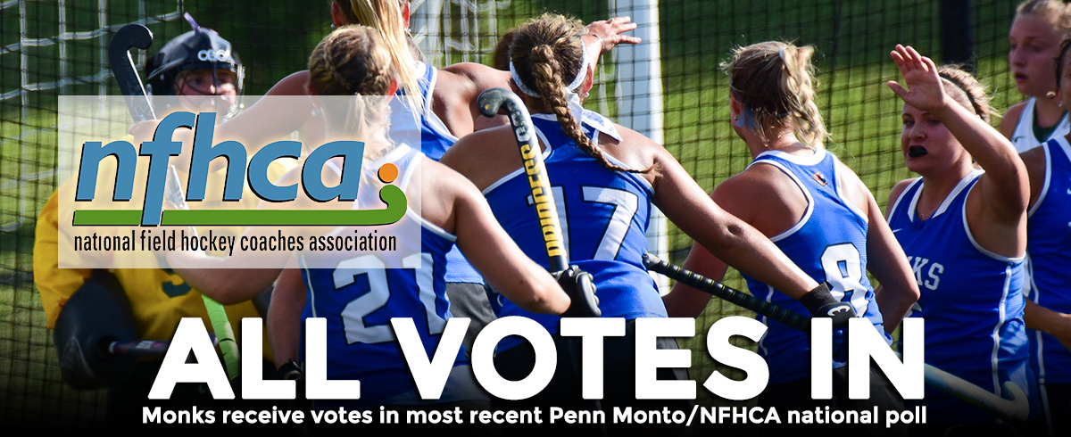 Saint Joseph's Receives Votes in Recent Penn Monto/NFHCA DIII National Poll