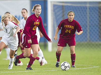 Ferris State Soccer Falls To NMU On Road