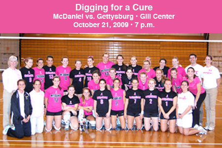 Volleyball to participate in Digging for a Cure
